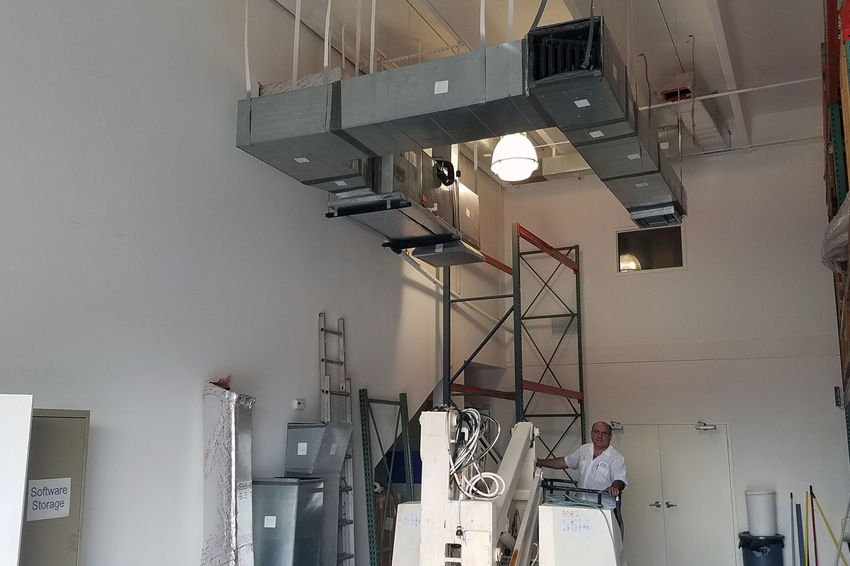 LIGHT COMMERCIAL HVAC AIR INSTALLATION MIAMI
